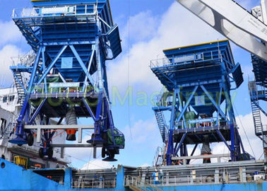 Fixed Port Tyre Hopper / Coal Bulk Hopper Ramah Lingkungan