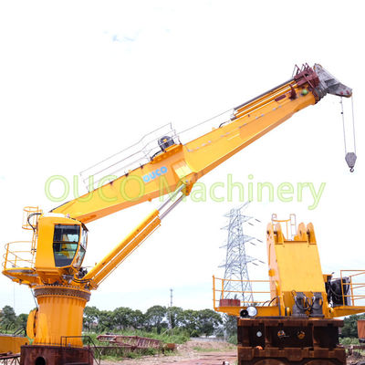 Offshore Crane 8t26m High Loading Efficiency dengan Sertifikat ABS